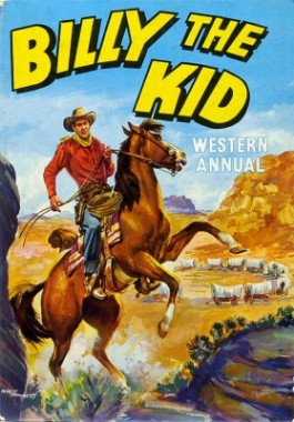 Billy the Kid Western Annual #1960