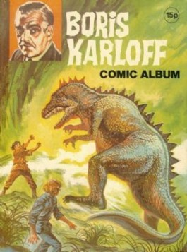 Boris Karloff Comic Album #1970