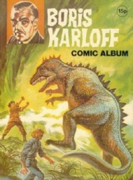 Boris Karloff Comic Album 1970s #1970