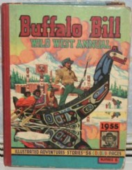 Buffalo Bill Wild West Annual  #1955