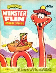 Buster and Monster Fun Holiday Special  #1980