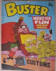 Buster and Monster Fun Holiday Special  #1984