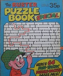 Buster Puzzle Book Summer Special #1978