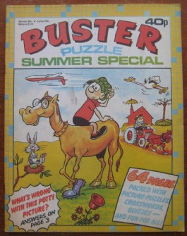 Buster Puzzle Book Summer Special #1979
