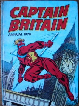 Captain Britain Annual #1978