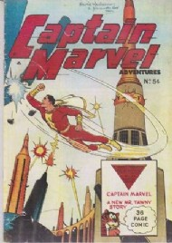 Captain Marvel Adventures 1944 - 1954 #54