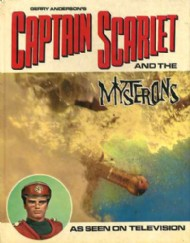 Captain Scarlet and the Mysterons Storybook  #1968