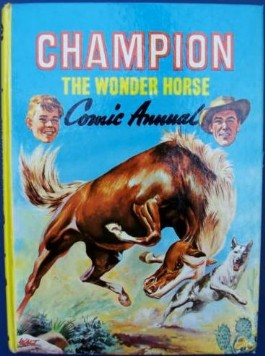 Champion the Wonder Horse Comic Annual #1960