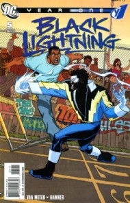 Black Lightning: Year One 2009 #5