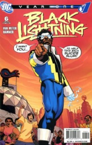 Black Lightning: Year One 2009 #6
