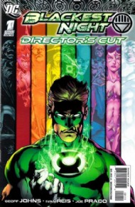 Blackest Night: Director's Cut 2009 #1