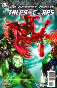 Blackest Night: Tales of the Corps 2009 #2